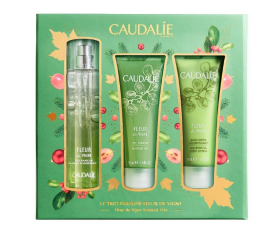 Caudalie Set Fleur de Vigne Fresh Fragnance 50ml + ΔΩΡΟ Caudalie Fleur de Vigne Shower Gel 50ml + ΔΩΡΟ Caudalie Fleur de Vigne Nourishing Body Lotion 50ml
