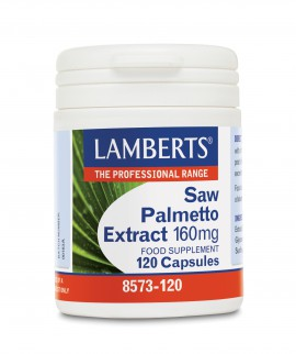 Lamberts Saw Palmetto Extract 160mg 120caps