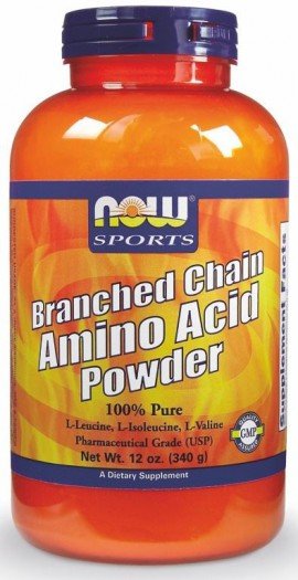 Now Foods Branched Chain Amino Acid Powder (BCAA) 340gr