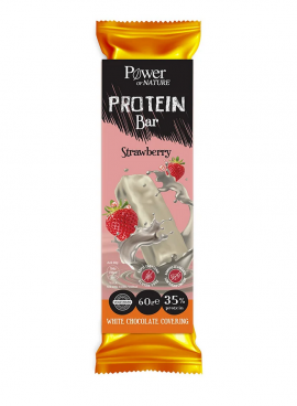 Power Health Protein Bar Strawberry White Chokolate Covering 60gr
