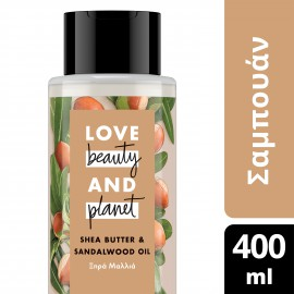 Love Beauty and Planet ΣΑΜΠΟΥΑΝ SHEA BUTTER ΞΗΡΑ 400ML