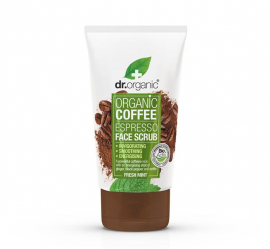 Dr.Organic Organic Coffee Espresso Mint Face Scrub 125ml