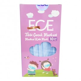 Ece Medical Kids Mask Μπλε 10τμχ