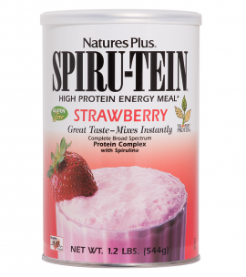 Natures Plus SPIRU-TEIN STRAWBERRY 544 gr
