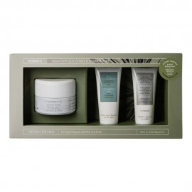 Korres Set White Pine Day Cream 40ml & ΔΩΡΟ White Pine Night Cream 16ml & Olympus Tea 3in1 Cleansing 16ml
