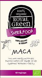AM HEALTH ROYAL GREEN MACA BIO 60CAPS