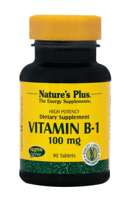 NATURES PLUS Vitamin B1 (θειαμίνη) 100 mg 90tabs