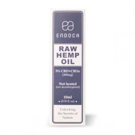 Endoca Raw Hemp oil 3% CBD+CBDa 10ml