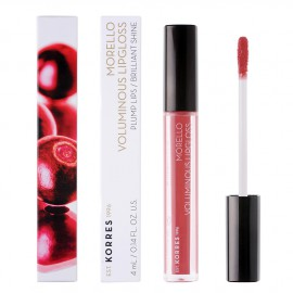 Korres Morello Voluminous LipGloss 16 Blushed Pink 4ml