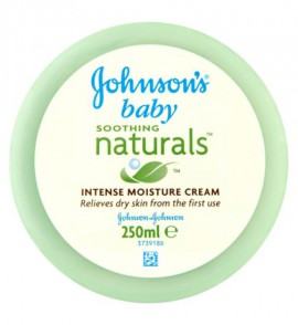 Johnsons Baby Soothing Naturals Intense Moisture Cream - 250ml