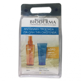 Bioderma Photoderm Bronz Dry Oil SPF30 200ml + ΔΩΡΟ Atoderm Gel Douche 100ml