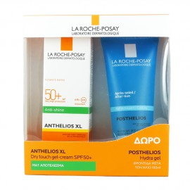 LA ROCHE POSAY Anthelios XL Dry touch gel-cream SPF50+ 50ml - Δώρο POSTHELIOS Hydra gel 100ml