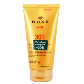Nuxe Sun Delicious Lotion High Protection SPF30 Αντιηλιακό Γαλάκτωμα για Πρόσωπο & Σώμα 150ml