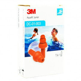3M Aquafit Earplugs Junior 1 pair
