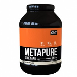 QNT Metapure Zero Carb Whey Isolate Protein Powder White Chocolate 908gr