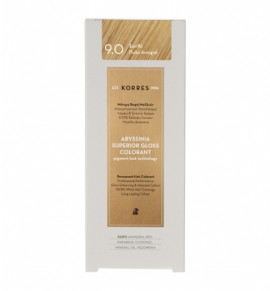 KORRES Abyssinia Superior Gloss Colorant 9.0 Ξανθό Πολύ Ανοιχτό 50ml