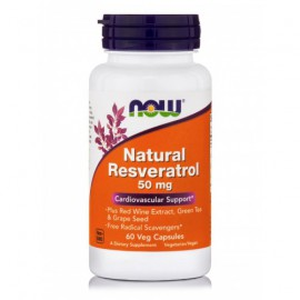 Now Foods Natural Resveratrol 60 Veget.caps