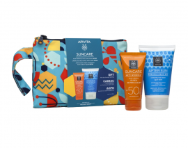 Apivita Set Apivita Suncare Anti-Wrinkle Face Cream SPF50 με Ελιά & 3D Pro-Algae® 50ml + Δώρο AfterSun Cooling Cream-Gel με Σύκο & Αλόη 100ml