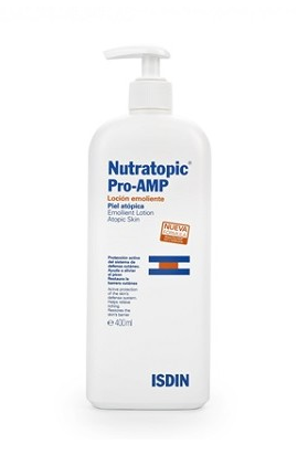 Isdin Nutratopic Pro-Amp Emollient Lotion Atopic Skin 400ml