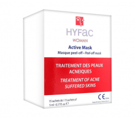 Hyfac Woman Active Peel Off Mask 15 X 5ml Sachets