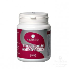 Health Sign Free Form Amino Acids 120caps