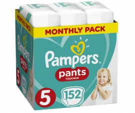 Pampers Pants No.5 (12-17kg) 152 Πάνες